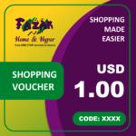 Fazak Shopping Voucher USD1