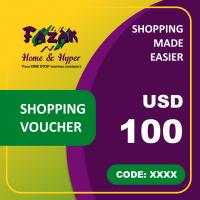 Fazak Shopping Voucher USD100