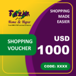 Fazak Shopping Voucher USD1000