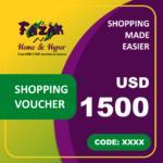 Fazak Shopping Voucher USD1500