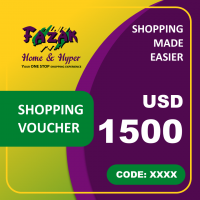 Fazak Shopping Voucher USD1500
