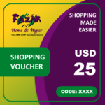 Fazak Shopping Voucher USD25