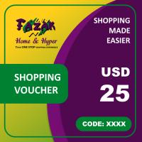 Fazak Shopping Voucher USD25