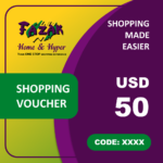 Fazak Shopping Voucher USD50