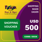 Fazak Shopping Voucher USD500