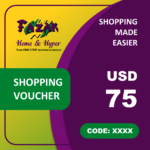 Fazak Shopping Voucher USD75