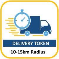 DELIVERY TOKEN 10-15KM