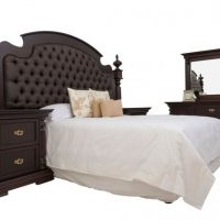 FRENCH EMPIRE BEDROOM SUITE (available in grey)